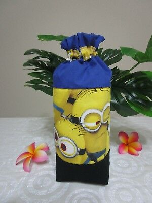 Insulated baby bottle holder-Minions-Fits all baby bottle sizes.