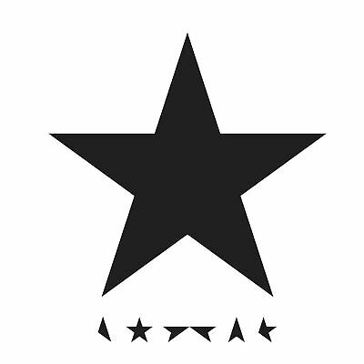 DAVID BOWIE BLACKSTAR CD ALBUM (New and Sealed Sleeve-pack CD)