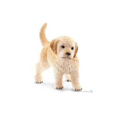 CUCCIOLO di GOLDEN RETRIEVER animali in resina SCHLEICH miniature 16396 farm lif