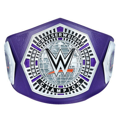 Official WWE Authentic  Cruiserweight Championship Replica Title silver