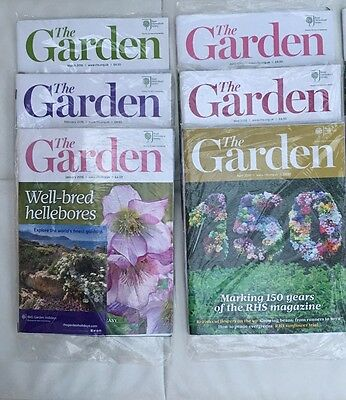 RHS The Garden Magazine - 6 Issues - January to June 2016