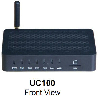 Dinstar UC100-1S1O VoIP Gateway with options SIP, 1x FXS, 1x FXO + WLAN