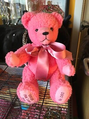 hermann vintage pink lamb bear limited edition