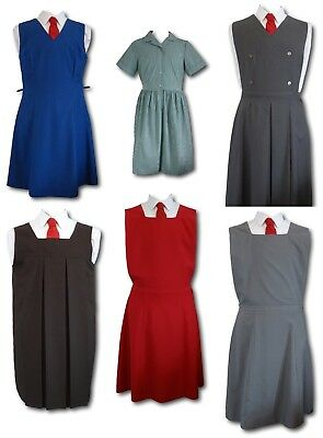 "Vintage School Uniform Gymslips & Summer Dresses - Adult Sizes 38"" to 40"""