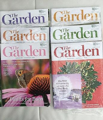 RHS The Garden Magazine - 6 Issues - July to December 2015