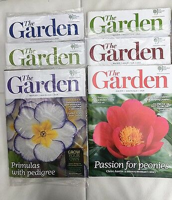 RHS The Garden Magazine - 6 Issues - January to June 2015