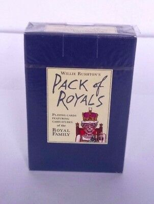 Willie Rushton's Pack Of Royals Royal Family Caricatures Playing Cards 1995