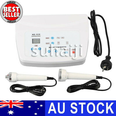 WD-T628 Ultrasound Facial Body Skin Massager Pain Therapy Ultrasonic Machine