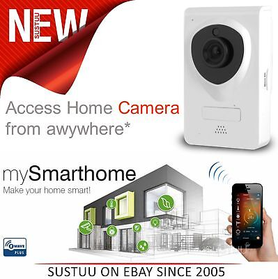 Hauppauge 1565│Wireless HD Wi-Fi  Security Camera│Night Vision│See on Smartphone