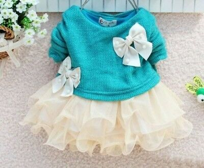 Red Tutu Dress for 0-3 Months Newborn Baby Girls Christmas Dress with Ivory Bow