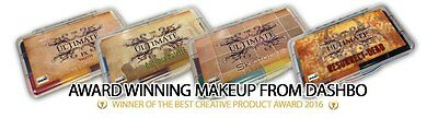 Dashbo Ultimate FX Palettes Alcohol Activated Makeup 100% Vegan Cruelty Free
