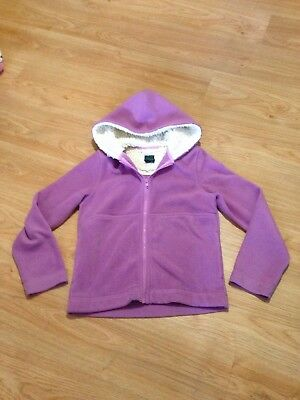 Mini Boden Girls Cosy Thick Fleece Zip Up Hoodie Age 13-14Years VGC