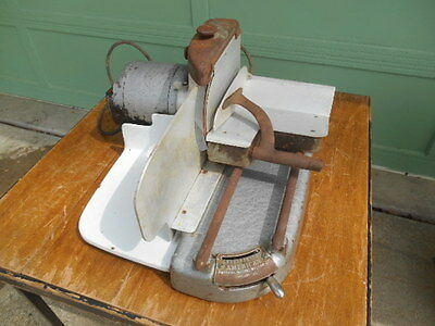 Vintage American Slicing Machine Co. Professional Meat Cheese Slicer  Model 111
