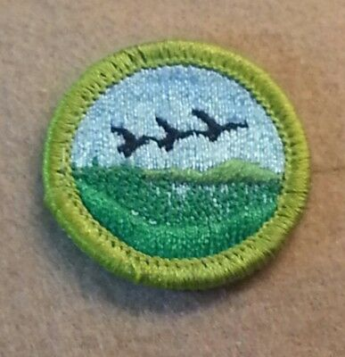 1972-2002 PLASTIC BACK PRE-OWNED A00279 BSA NATURE Merit Badge Type H