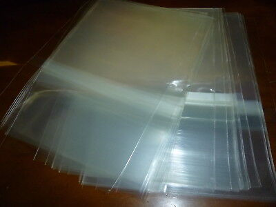 100 OPP 2CD-BOX Plastic Protect Bag Resealable Outer Sleeves JAPAN