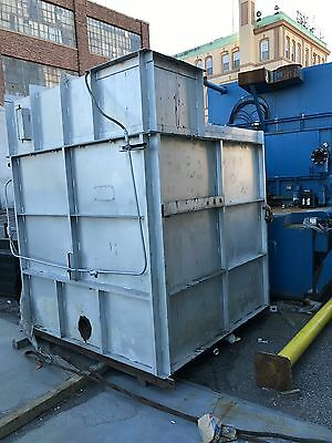 Bayco 6' x 6' x 6' Industrial Walk in Oven Gas Fired Powder Coating Curing