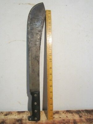 Antique Vintage Hand Forged Bolo Machete Knife Japan WWII Jungle Bowie Sword