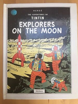 Herge The Adventures Of Tintin - Explorers On The Moon - Pop Up Book