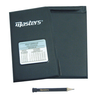Masters Deluxe Golf Score Card Holder