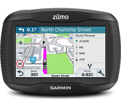 "GARMIN Zumo 395LM EU Motorcycle 4.3"" Sat Nav - with UK, ROI & Full Europe Maps -"