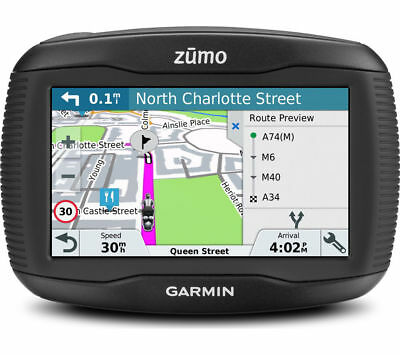 "GARMIN Zumo 395LM EU Motorcycle 5"" Sat Nav - with UK, ROI & Full Europe Maps"