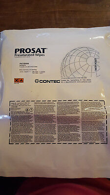 Prosat Presaturated wipes-30 wipes-9 x 9in-expired but still wet & work fine