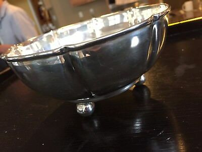 Sterling Silver Bowl Made In Mexico