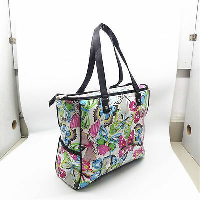 Thirty One gifts Large FLUTTER butterfly Cindy Tote women handbag Shoulder bag