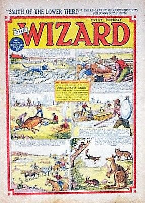 WIZARD - 24th JANUARY 1953 (20 - 26 Jan) - RARE 65th BIRTHDAY GIFT !! VG+..eagle