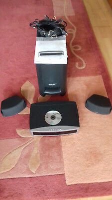 3-2-1 GS Series II DVD Home Entertainment Systems Bose + 2 extra Kabel