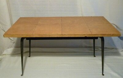 Nordiska Kompaniet. Exquisite Coffee Table in Iron and Parchment
