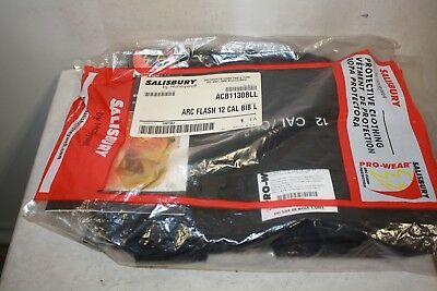 Salisbury Acb1130Bll Arc Flash Bib 12 Cal