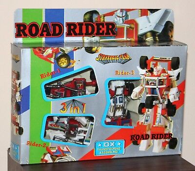 Road Rider DX Strategic Plan 3 in 1 Transformers KO buggy robot Taiwan