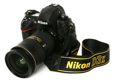 Nikon D D3x 24.5MP Digital SLR Camera - Black (Body, Lens, Strap) Lens: 24-85mm