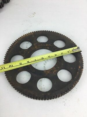 Cast Iron industrial steampunk gear sprocket steampunk  lamp base