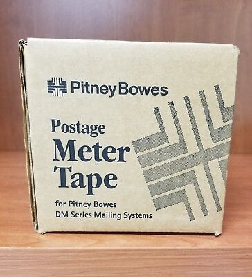 NEW Pitney Bowes Genuine Original Postage Meter Tape DM Series 627-8 Box 3 Rolls