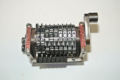 leibinger number box numbering heads convertable 9 digit