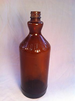 Antique Glass Clorox Bottle circa early 1900 Steam punk looking