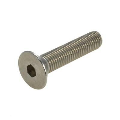 G304 Stainless 1/4 UNF Imperial Fine Countersunk Socket Screw Bolt CSK