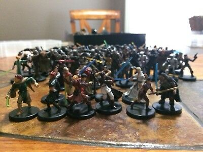 star wars miniatures old republic lot +90 figures