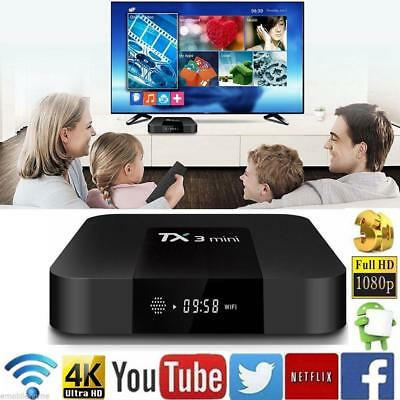 2017 Android 7.1 Smart TV Box 2GB 16GB Media Player Internet Streamer X96 Mini