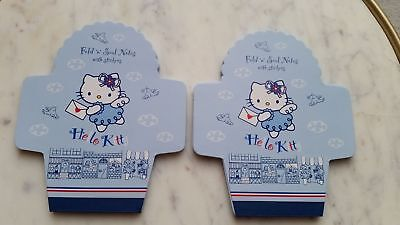 seltenes Mini Briefset Hello Kitty Fold 'n' Seal Notes with Stickers RAR