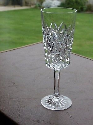 "Tyrone Crystal ""SPERRIN"" Sherry Glass"