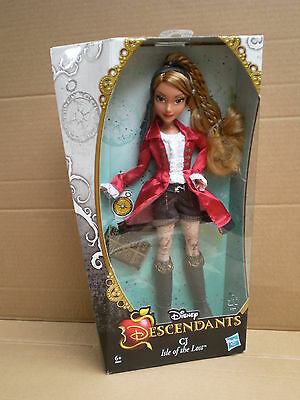 "Disney Descendants CJ Daughter of Captain Hook Peter Pan Barbie Pirate 11"" Doll"