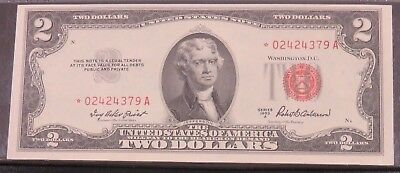 FR. 1510* Red Seal $2 United States Note 1953-A Series Choice Uncirculated #485