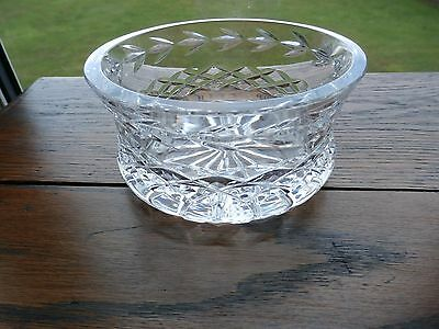Irish Tyrone Crystal DUNDALK Bowl