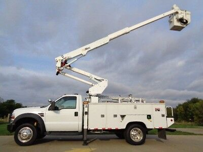 08 43' Bucket Truck Boom Basket Lift Aerial Utility Service Altec AT37G AC