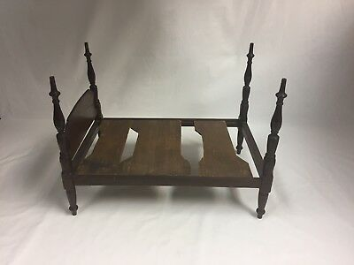 Miniature Federal Tall Post Bed