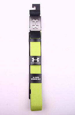 Under Armour UA Youth Webbing Belt One size fits all up to size 34