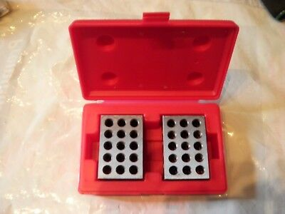 spi One Pair 1 2 3 Precision Blocks in box very nice